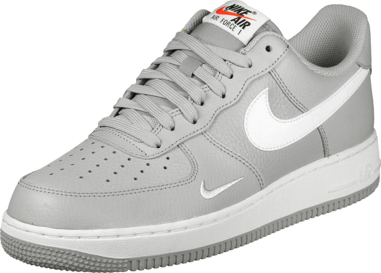 air force 1 grise femme,Nike Air Force 1'07 blanche grise et or ...