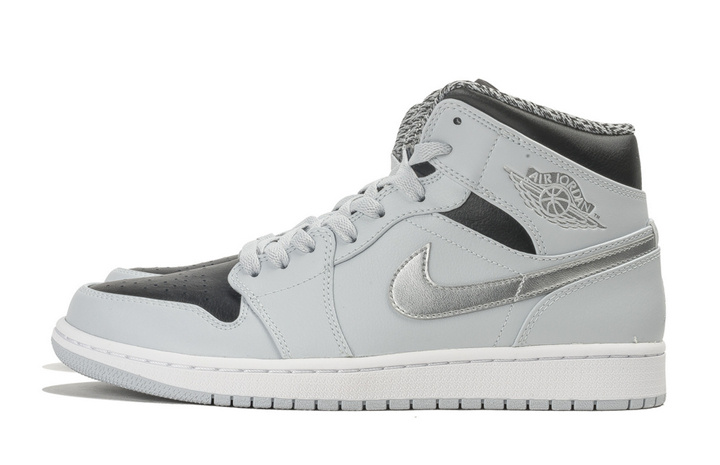 air jordan grise pas cher,Nike Jordan 1 Retro Gris High ...