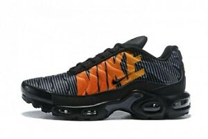 nike max plus tn noir et orange homme,Homme Nike Air Max